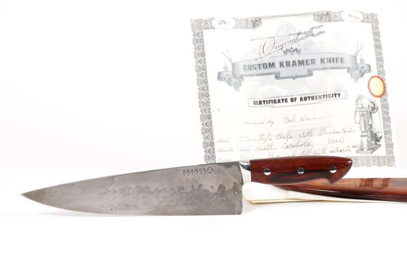 Anthony Bourdain's Meteorite Chef Knife Sells for $231,250