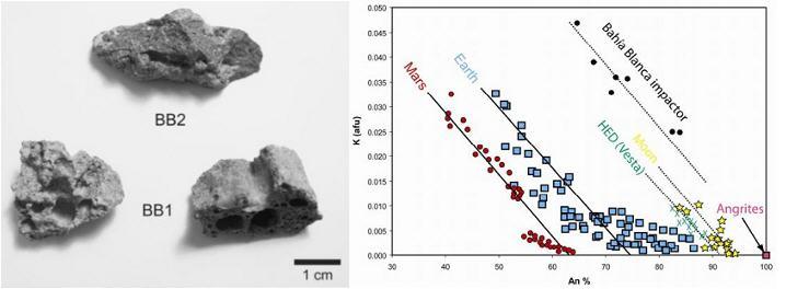 standby for bahia blanca angritic fragments photo