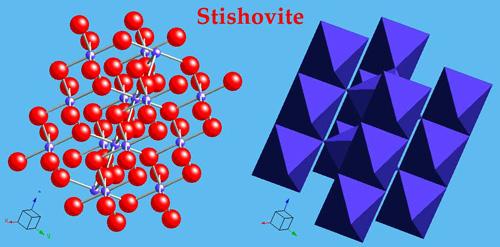 Stishovite structure